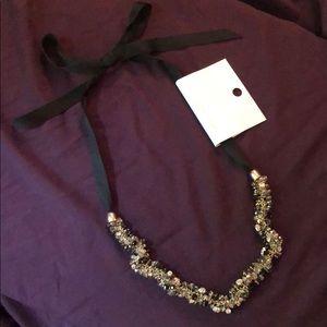 Loft ribbon necklace